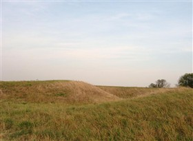 Photo:Remains of a motte at Woodwalton Castle, 2011/