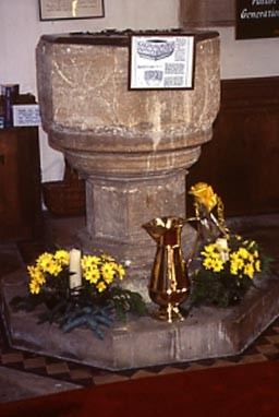 Photo:The Norman Font